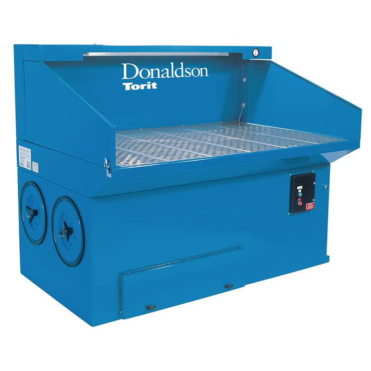 colectores donaldson downdraft bench